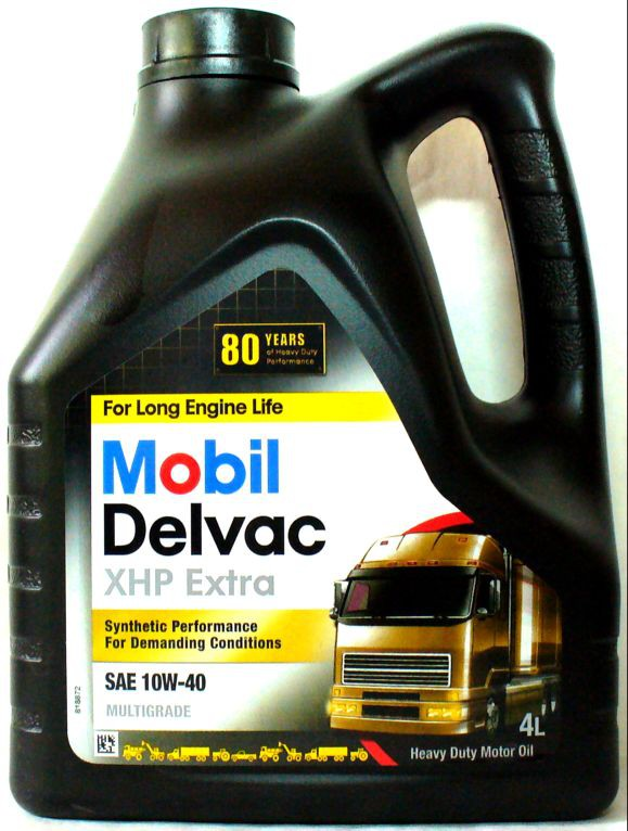 MOBIL DELVAC XHP EXTRA 10W-40 4л