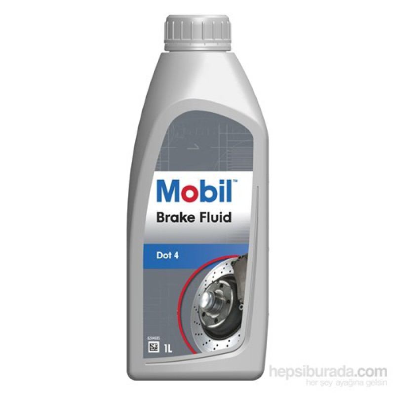 Mobil Brake Fluid universal DOT 4 и DOT 1л