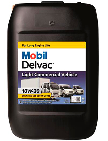 Mobil Delvac Light Commercial Vehicle (LCV) 10W-30 4л